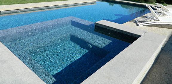Resurfacing pool deck