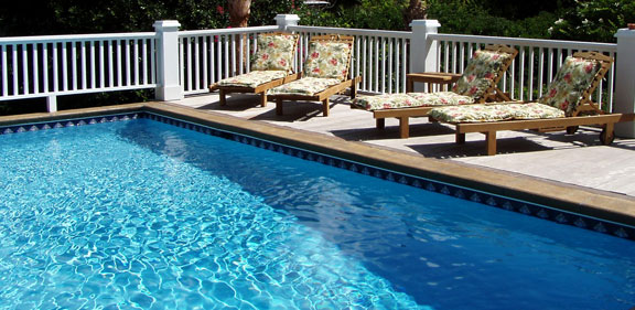 Pool cool deck
