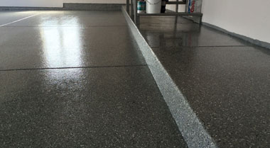 Residential Epoxy flooring Des Moines