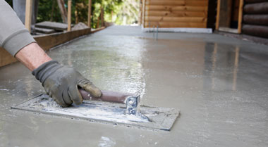 Sealing new concrete