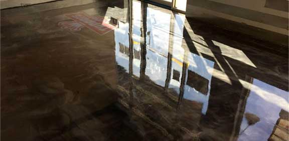 metallic epoxy floors Des Moines