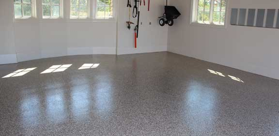 garage floor epoxy Iowa