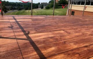 Rustic wood concrete is a perfect solution for those looking for a durable, long lasting, and beautiful flooring solution. Give us a call today for a free quote